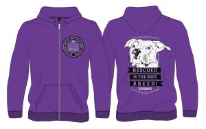 Donor Hoodie Purple